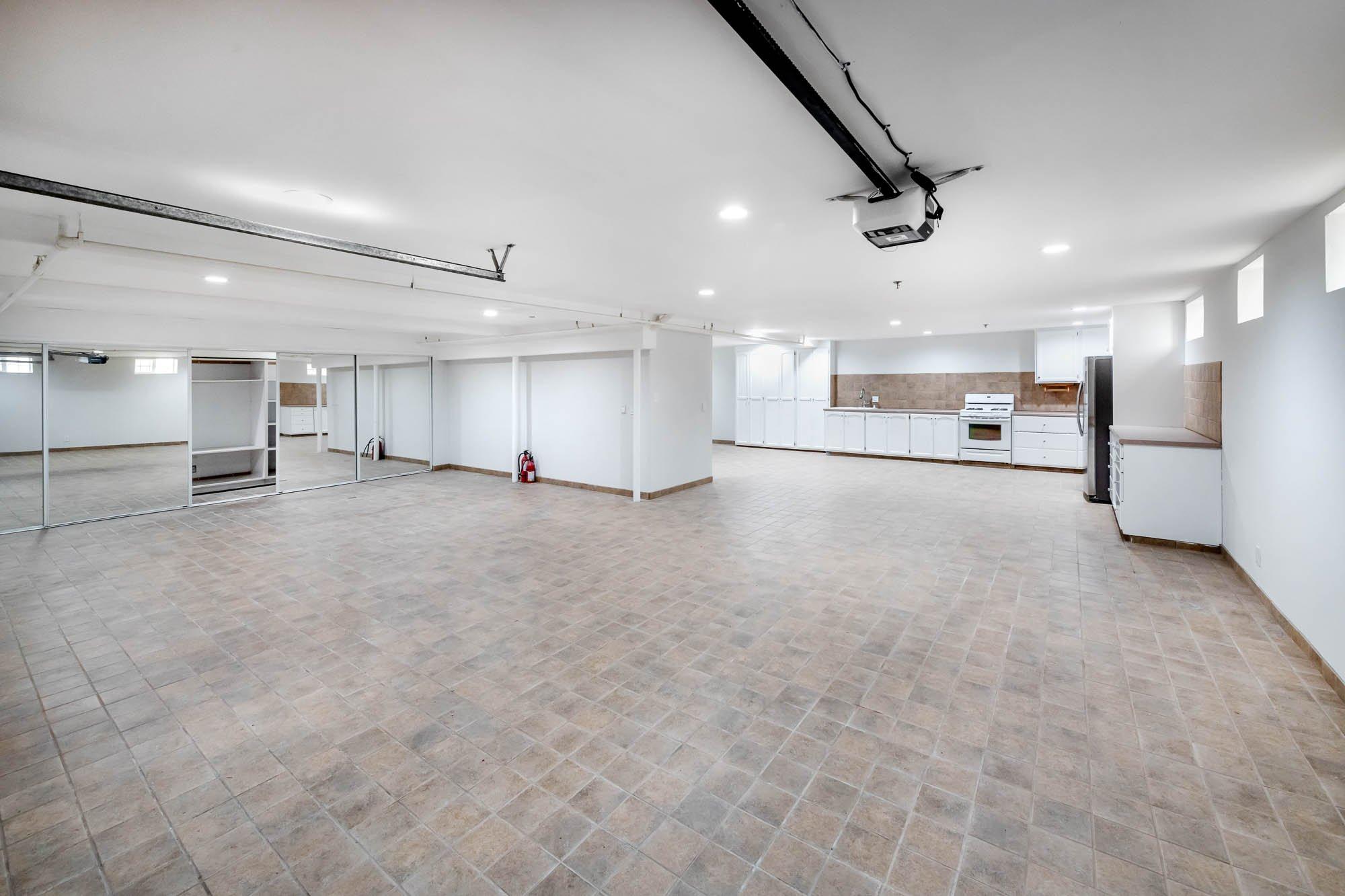 Basement / Garage Reverse Angle